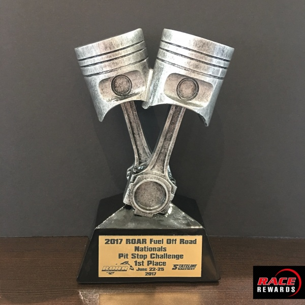 Car Show Resins Race Rewards - Piston car show trophies