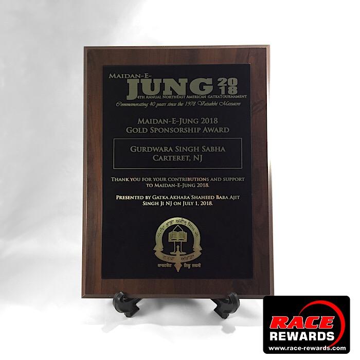 trophies sublimated plaque samples race rewards